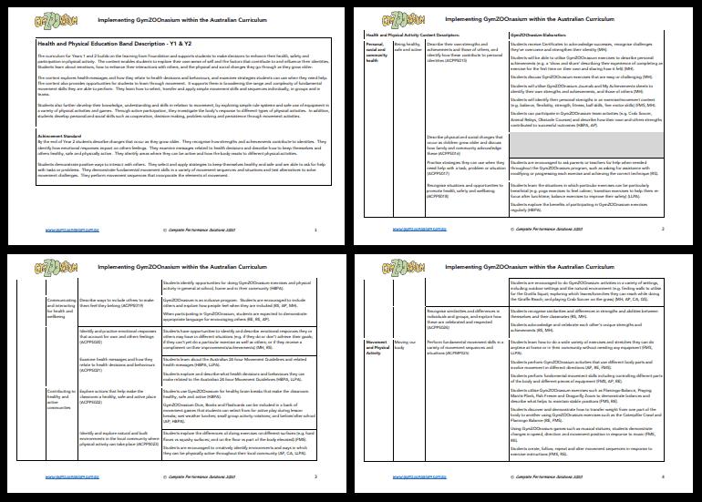 Curriculum Document Example