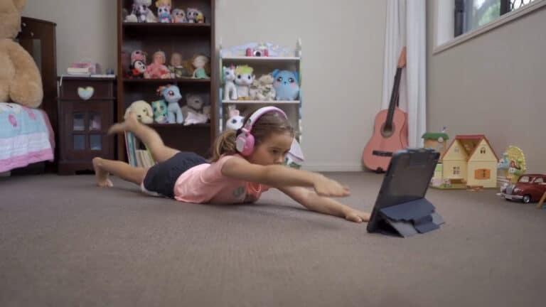 Online Exercise Program for Kids